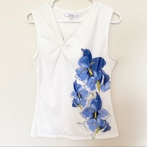 Alfred Sung Sleeveless Blouse